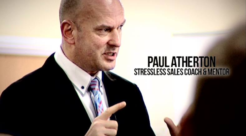 Independent Sales coach Paul Atherton