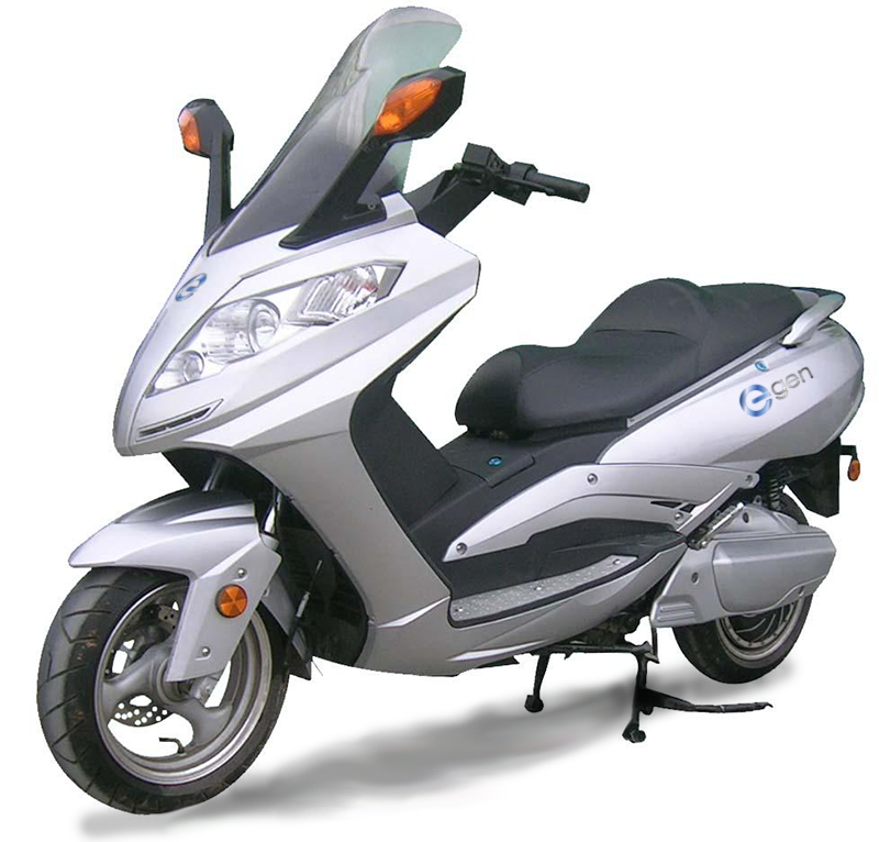 Premium electric scooter moped