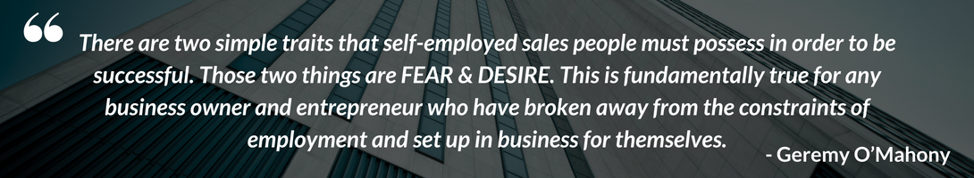 quote from an independent sales rep