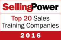 sales training company award logo